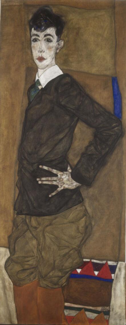 Egon Schiele, 'Portrait of Erich Lederer', 1912