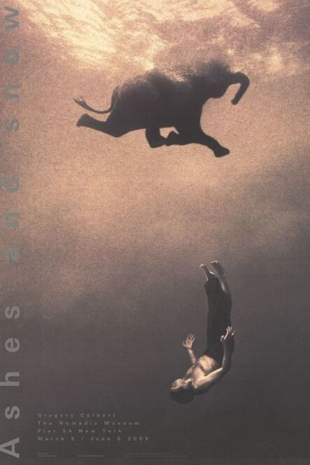 Gregory Colbert, 'Gregory Swimming with Elephant, New York', 2005