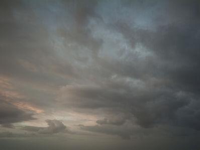 Donald Weber, 'Gold Beach - October 22, 2014, 7:02pm. 12ºC, 76% RELH, Wind W, 7 Knots. VIS: Good, Overcast Clouds', 2014