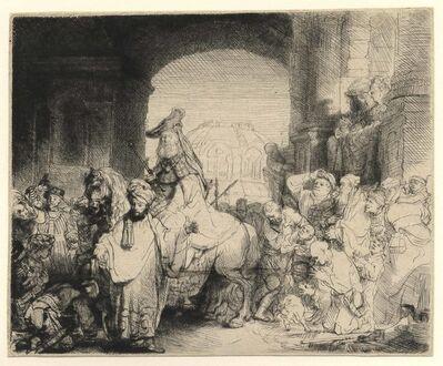 Rembrandt van Rijn, 'The Triumph of Mordecai', ca. 1641