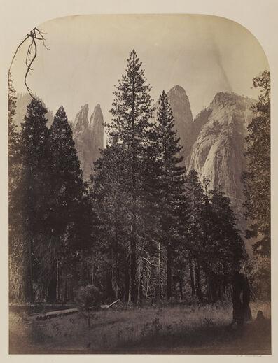 Carleton E. Watkins, 'Cathedral Spires - Yo Semite', 1861