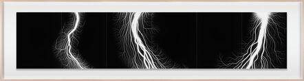 Hiroshi Sugimoto, 'Lightning Fields Composed 012', 2008