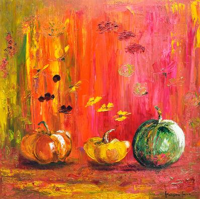 Francoise Laine, 'Pumpkins in celebration', 2019