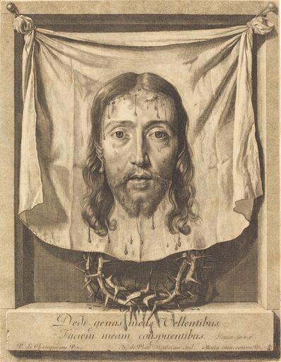 Nicolas de Plattemontagne after Philippe de Champaigne, 'The Veil of Saint Veronica'