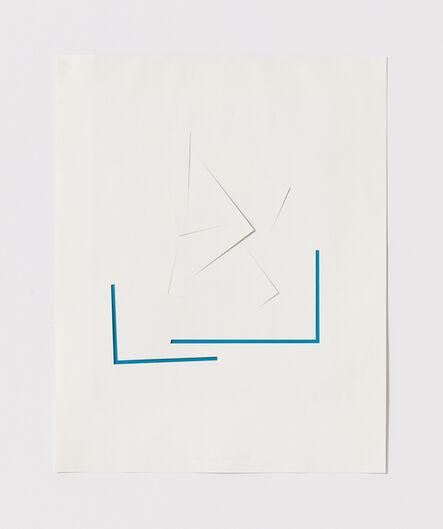 Stephen Antonakos, 'Untitled Cut, S#2', 1977
