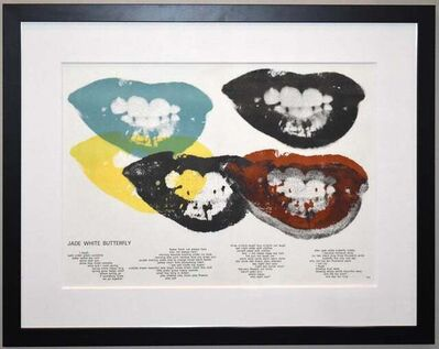 Andy Warhol, 'Marilyn Monroe I Love Your Kiss Forever Forever', 1964