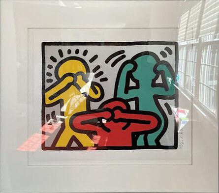 Keith Haring, 'Pop Shop III (3) (Hear No Evil, See No Evil, Speak No Evil)', 1989