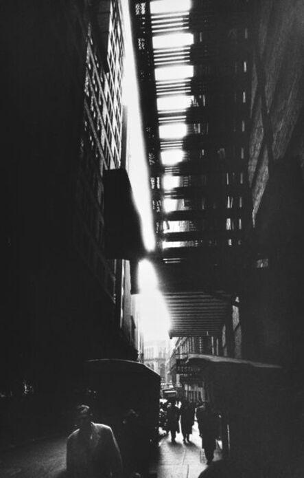 William Klein, 'Fire Escape, New York', 1955-1956