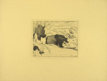 Paul Gauguin, 'The Laundresses', 1889