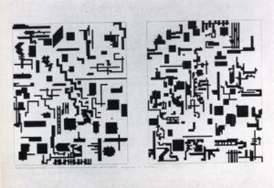 Alighiero Boetti, 'Pari e dispari', 1975