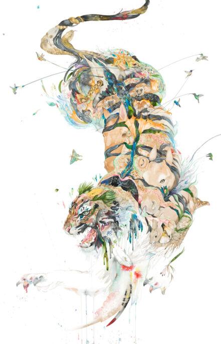 Laura Ball, 'Siberian Tiger Creature', 2020