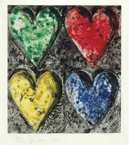 Jim Dine, 'Watercolor in the Galilee', 2001