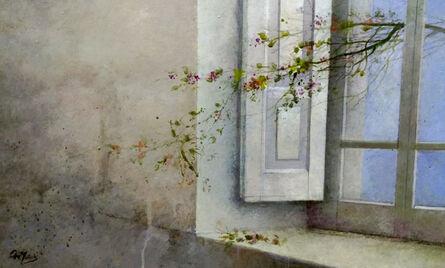 Ana Muñoz, 'INTERIOR WITH WINDOW', 2017