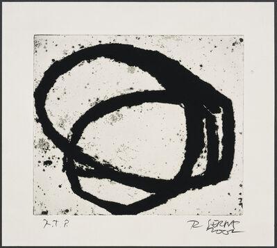 Richard Serra, 'Venice Notebook #12', 2002