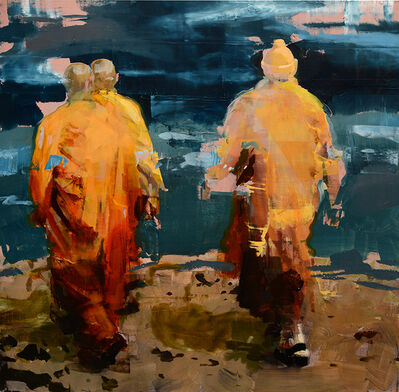 Alex Kanevsky, 'Monks at Sea', 2015