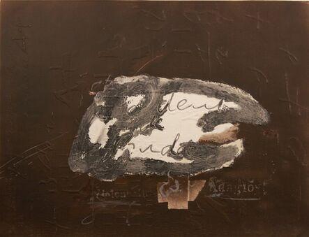 Antoni Tàpies, 'Variations sur un thème musical', 1987