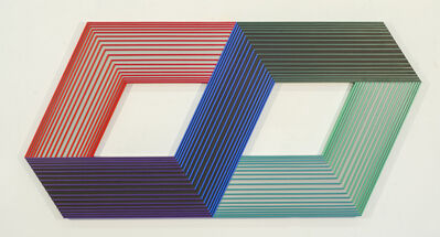 Richard Anuszkiewicz, 'Inner Warm and Inner Cool', 1990