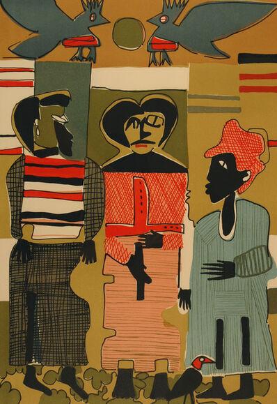 Romare Bearden, 'Firebirds', 1979