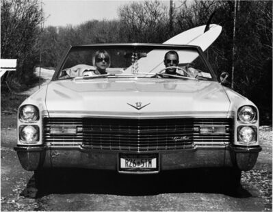 Michael Dweck, 'David and Pam in their Caddy', 2002