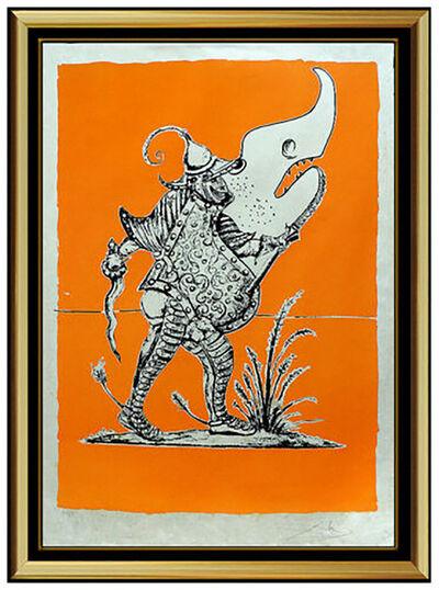 Salvador Dalí, 'Salvador Dali Color Lithograph Original HAND SIGNED Songes Drolatiques Artwork', 1970-1979