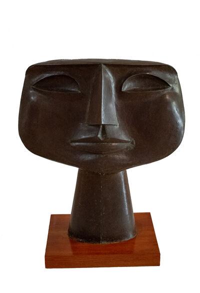 Oswaldo Guayasamín, 'Cabeza de niño', 1970