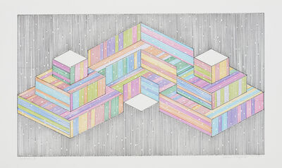 Adrian Esparza, 'Section 3', 2017