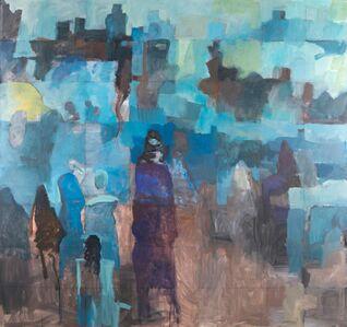 Adel Al-Khalaf, 'City Walls'