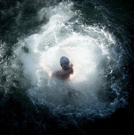 Cig Harvey, 'Old Man Jumping, Northport, Maine', 2016