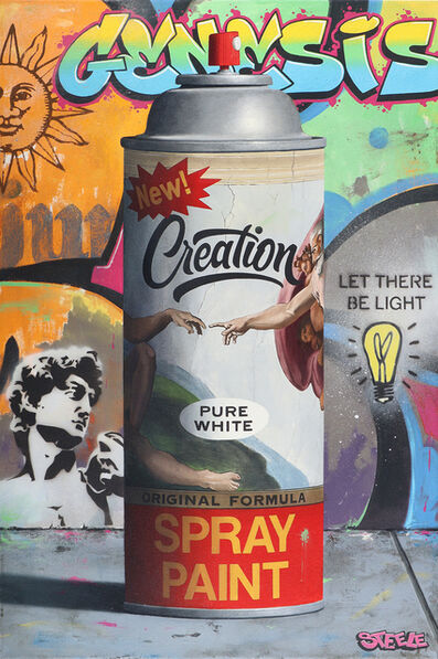 Ben Steele, 'Creation Spray Paint', 2021