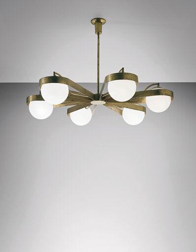 Arredoluce, 'Rare chandelier', 1950s