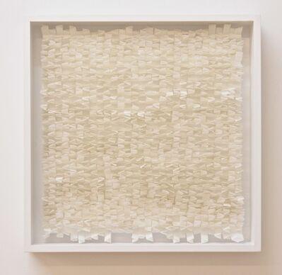 Rakuko Naito, 'RN417-3-3/8'15 V Fold Stripe with Burnt Edge', 2015