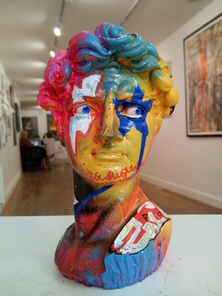 Zive, 'V.U.P.   Very Urban People   David head', 2020