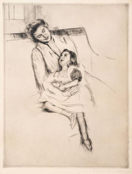 Mary Cassatt, 'Reine and Margot Seated on a Sofa (No. 2), ca. 1902'