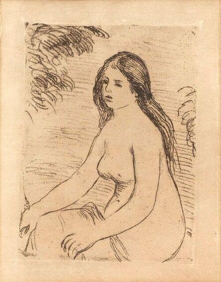 Pierre-Auguste Renoir, 'Femme Nue Assise (Seated Nude)', 1906