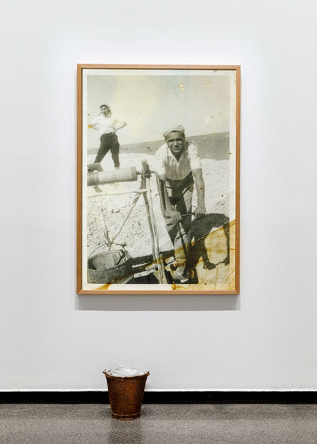 Yhonnie Scarce, 'Working Class Man (Andamooka Opal Fields)', 2017