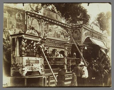 Eugène Atget, 'Fˆte des Invalides (Dog Show at a Street Fair)', 1898