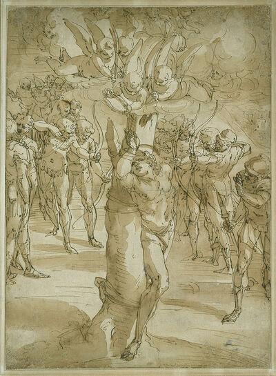 Luca Cambiaso, 'The Martyrdom of Saint Sebastian', 1561