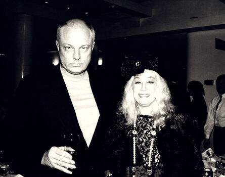 Andy Warhol, 'Andy Warhol, Photograph of Nelson Lyon and Sylvia Miles, 1980s', 1980s