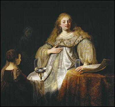 Rembrandt van Rijn, 'Judith at the Banquet of Holofernes', 1634