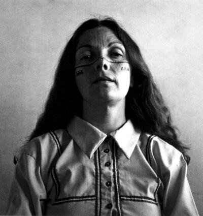 Graciela Iturbide, 'Autorretrato con los indios seris, Desierto de Sonora, México', 1979