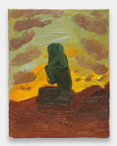 Morgan Hobbs, 'The Thinker on Mars', 2016