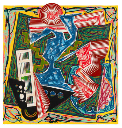 Frank Stella, 'Then Water Came and Quenched the Fire (from Illustrations after El Lissitzky's Had Gadya)', 1984