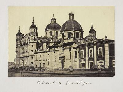 Claude Joseph Désiré Charnay, 'Catedral de Guadalupe', 1858