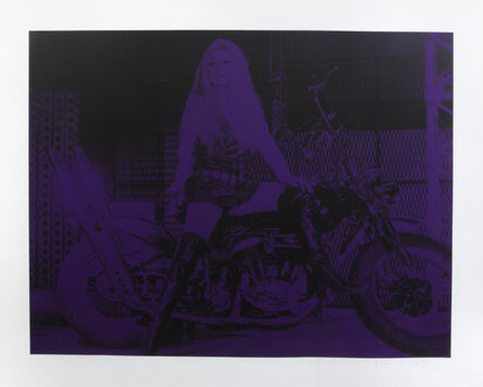 Russell Young, 'Brigitte Bardot (Purple)', 2007