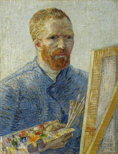 Vincent van Gogh, 'Self-Portrait as a Painter', 1887-1888