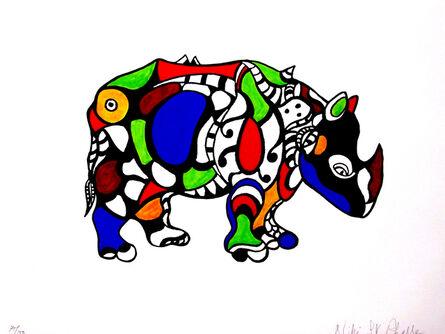 Niki de Saint Phalle, 'Rhinozeros', 1990-1999