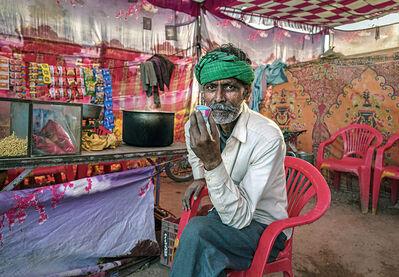 Neil O. Lawner, 'Portrait #9 India', 2020
