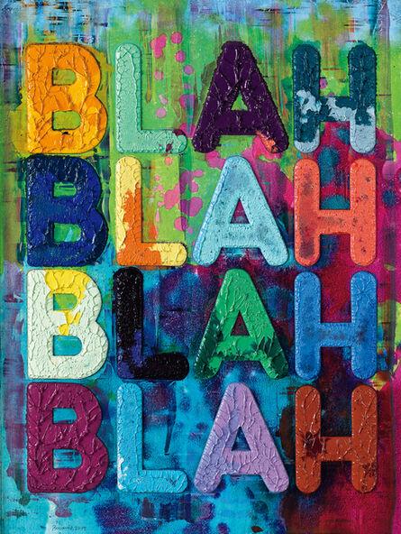 Mel Bochner, 'Blah Blah Blah', 2019