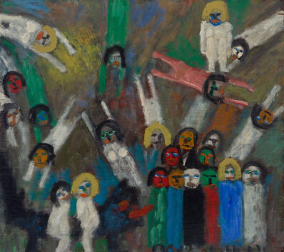 Jan Müller (1922-1958), 'Untitled (The Temptation of Saint Anthony)', ca. 1957