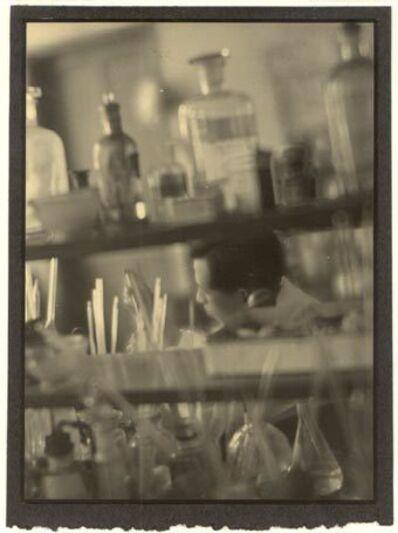 Nakano Shashin Kan, 'Laboratory at Kyoto Medical University', 1933